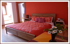 La camera Suite del Bed & Breakfast Marcolaura, Endine, Bergamo